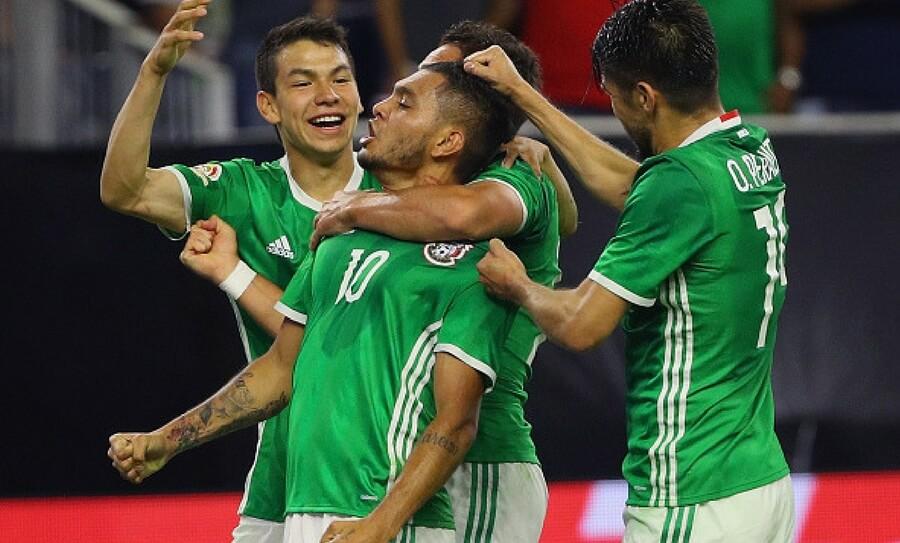 México domado por selecciones
