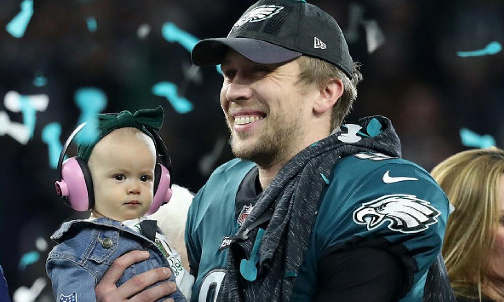 Nick Foles, Super Bowl LII, Eagles de Philadelphia