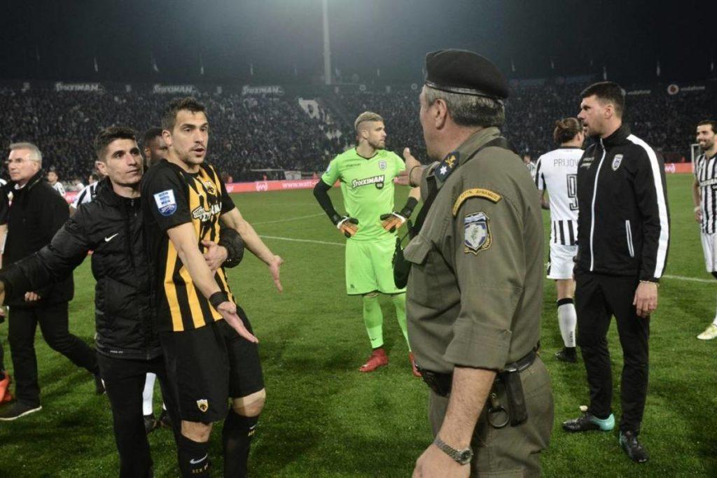 Presidente del PAOK no podrá entrar a estadios en tres años