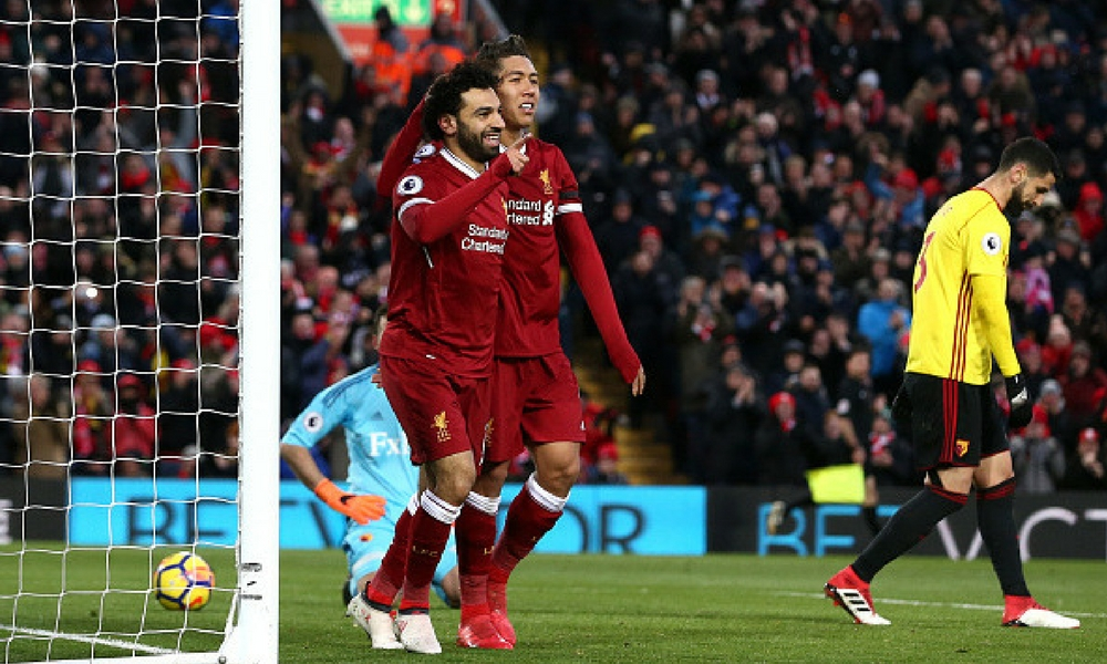 Liverpool asciende al tercer puesto en Liga inglesa de fútbol