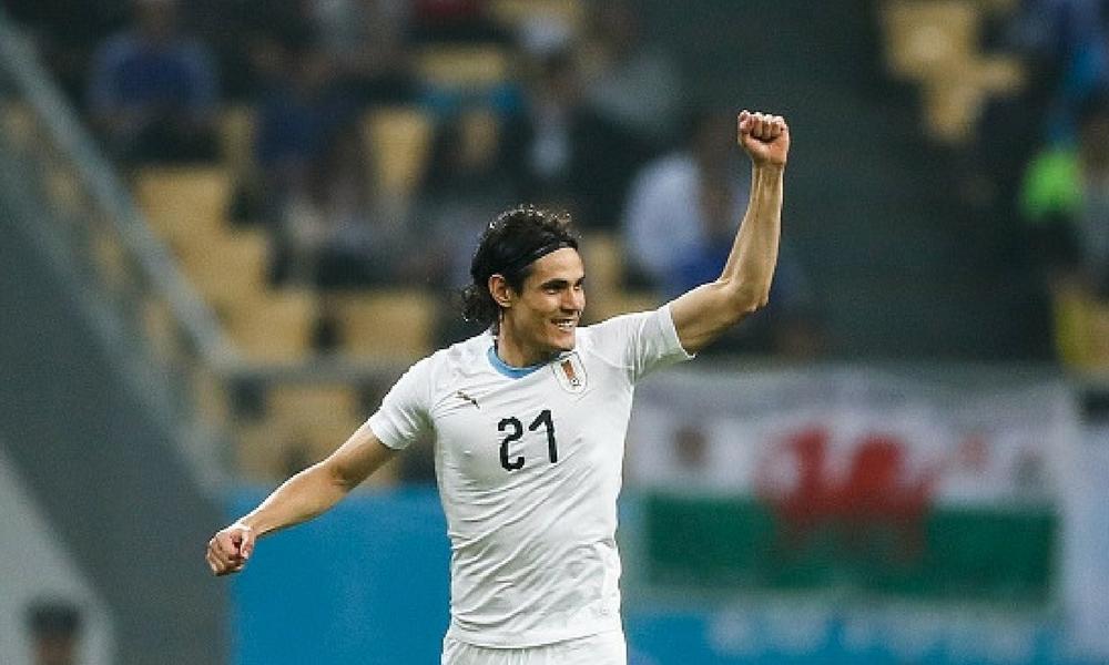 Cavani le dio a Uruguay el título de la China Cup
