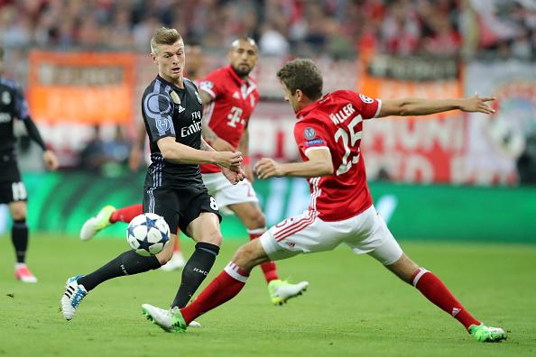 Bayern frente a Real Madrid