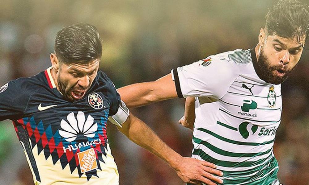 América se lleva los 3 puntos contra Santos