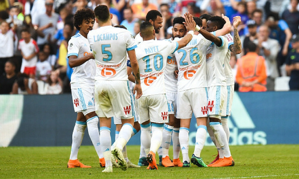 Olympique de Marsella vence a Salzburgo