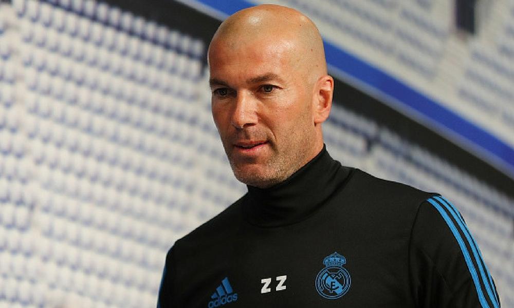 Zidane no quería dejar ir a James