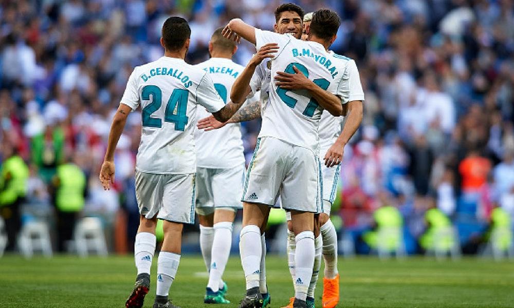 Madrid vence a Leganés