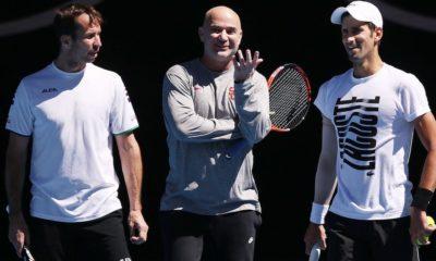 Djokovic despidió a su entrenador