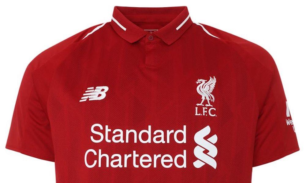 """aef73522d05dd El Liverpool presentó su nueva armadura  """"Red Pepper"""""""