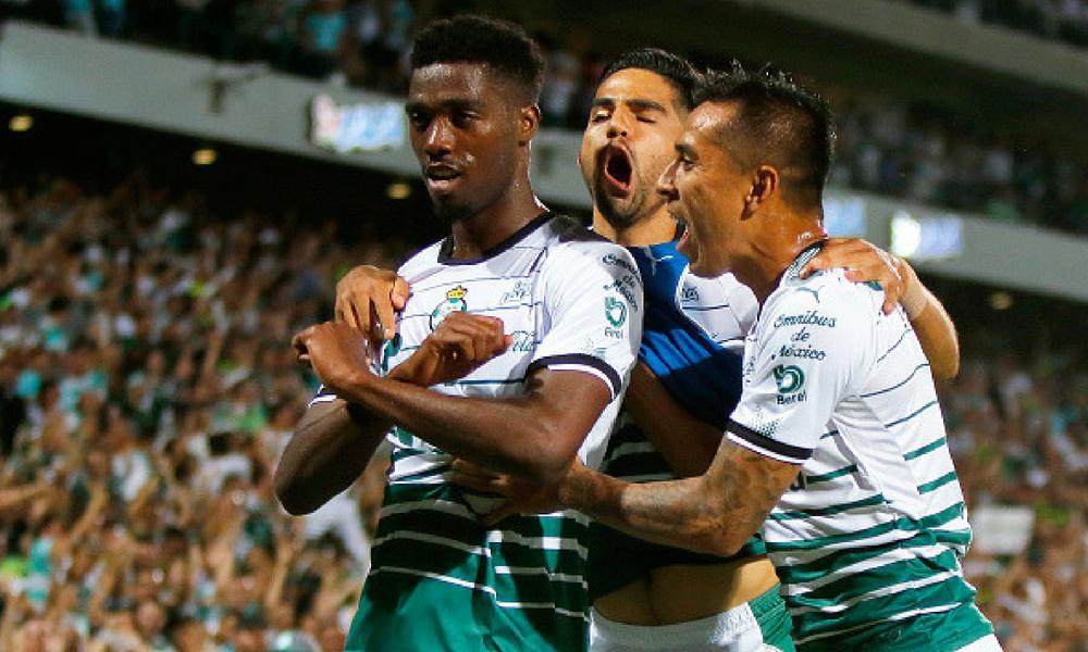 Santos despertó y venció al Toluca