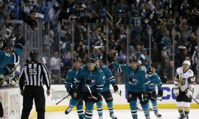 Los San José Sharks buscan empatar la serie contra Las Vegas