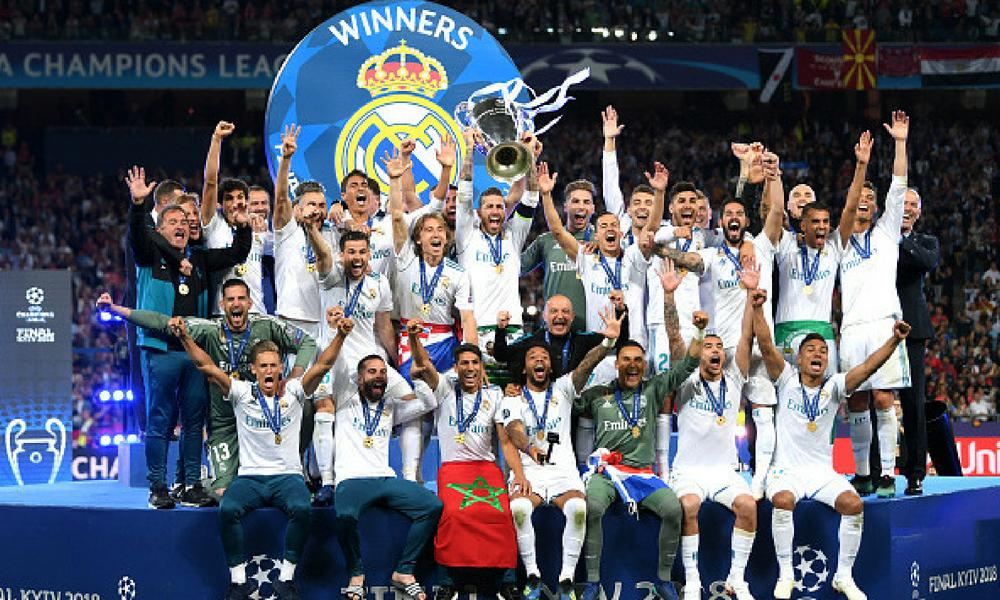 El Real Madrid ganó su tercera 'Orejona' consecutiva.