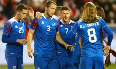 Selección de Islandia.