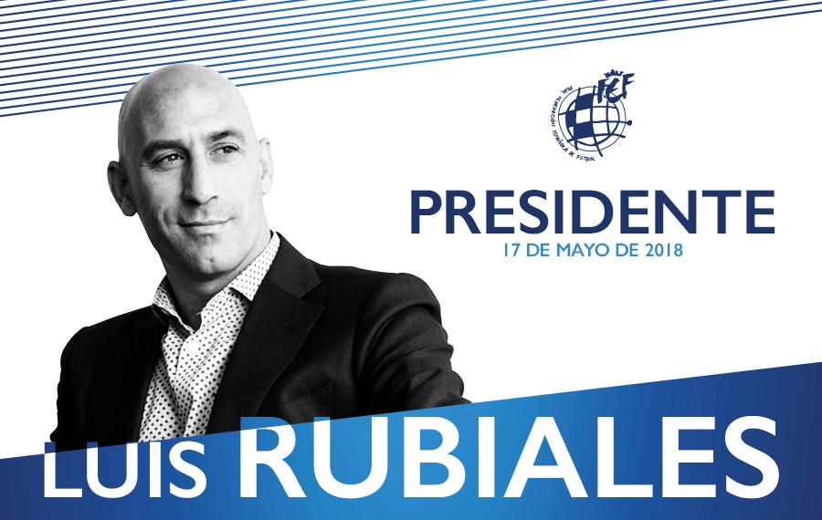 Luis Rubiales fue elegido nuevo presidente de la RFEF