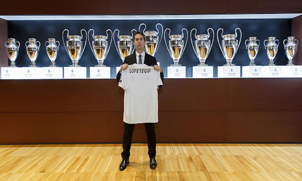Julen Lopetegui fue presentado en Madrid