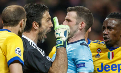 Buffon fue suspendido tres partidos por la UEFA.