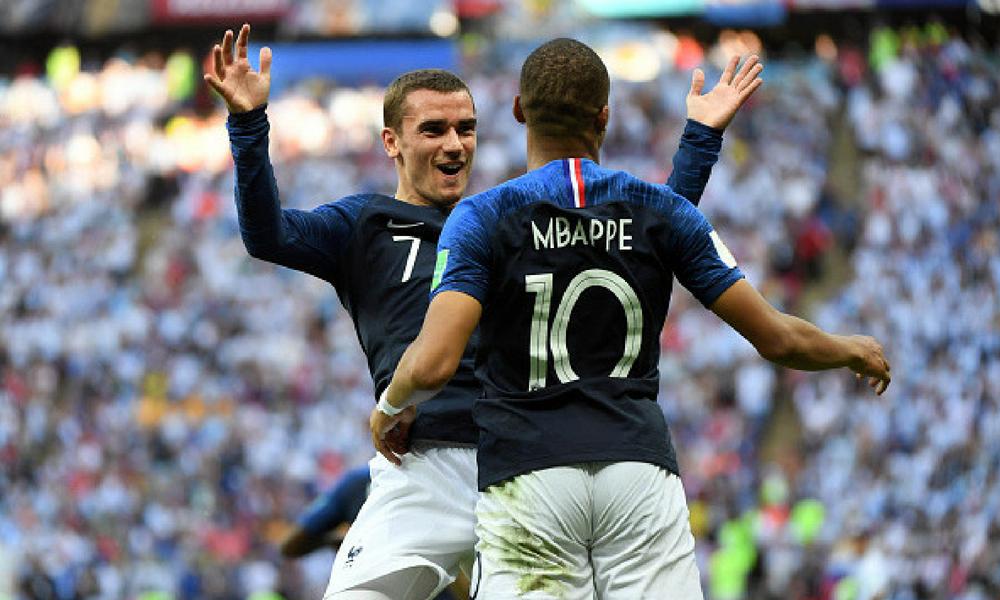 Francia acabó con el sueño de Messi