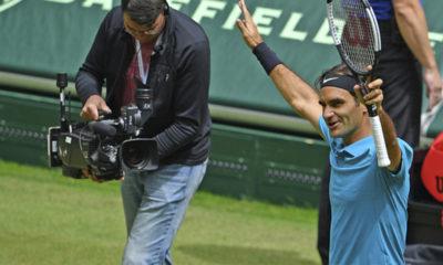 Federer avanzó a la final de Halle