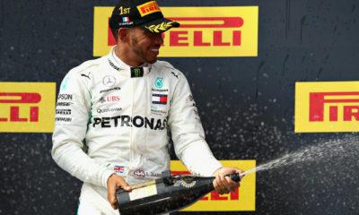 Hamilton conquistó el Gran Premio de Francia