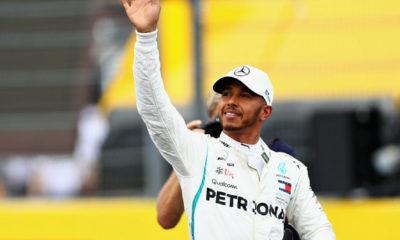 Hamilton obtuvo la pole position en Francia