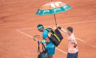 Roland Garros, lluvia pospuso la jornada de Roland Garros.
