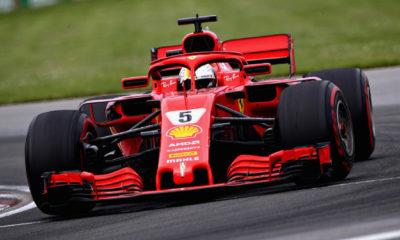 Sebastian Vettel conquistó el GP de Canadá.