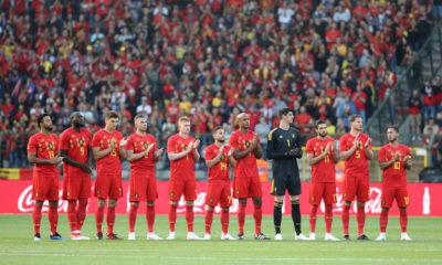 Bélgica anunció su lista para el Mundial.