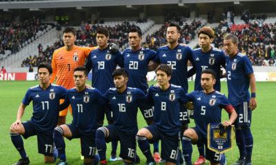 convocados de la Selección de Japón