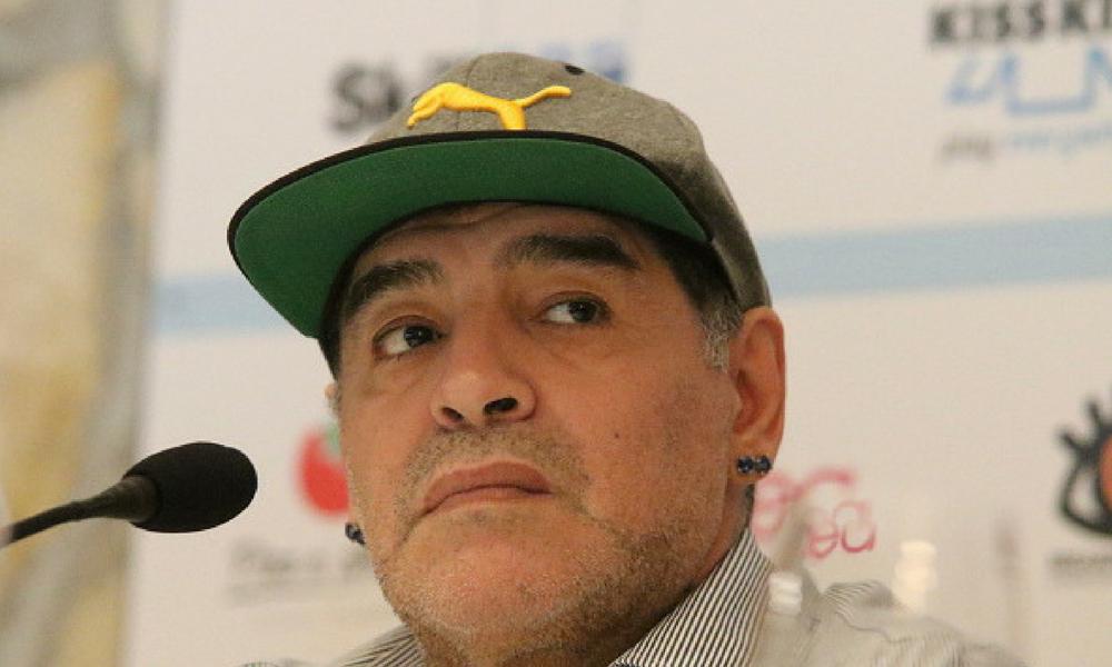 Maradona arremetió contra México