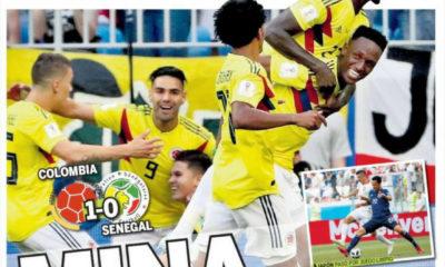 diarios deportivos del 29 de junio de 2018