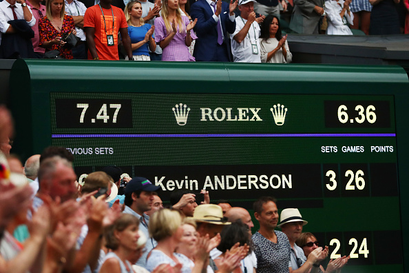 Anderson derrotó a Isner