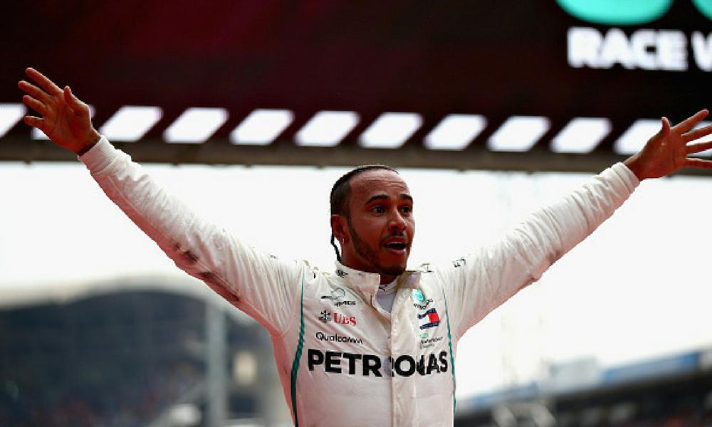Lewis Hamilton logró una victoria increíble