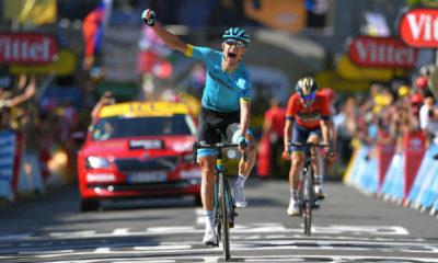 Magnus Cort Nielsen ganó la etapa 15 del Tour