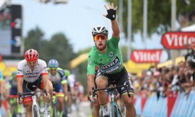 Sagan obtuvo su tercera victoria en el Tour