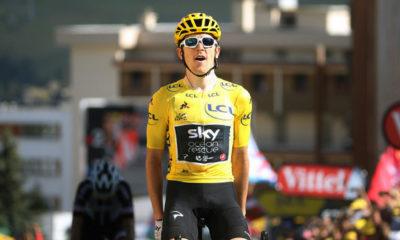 Geraint Thomas ganó su segunda etapa