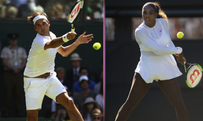 Federer y Serena avanzaron en Wimbledon