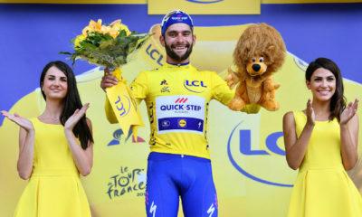 Gaviria ganó la etapa inaugural del Tour