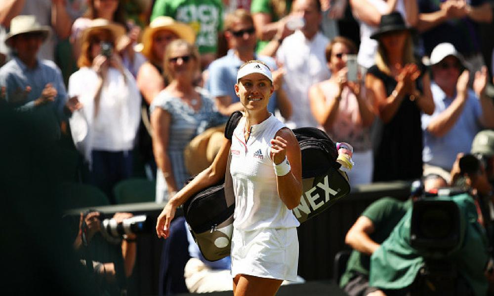 Kerber es la primer finalista de Wimbledon