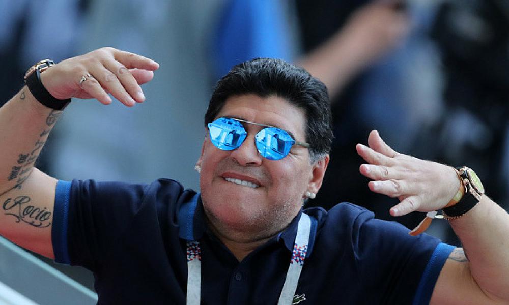 Maradona se ofreció dirigir a la Selección de Argentina