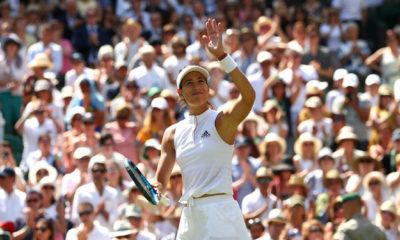 Muguruza arrancó con victoria en Wimbledon
