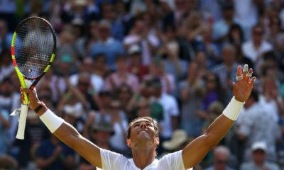 Nadal ganó en su debut en Wimbledon