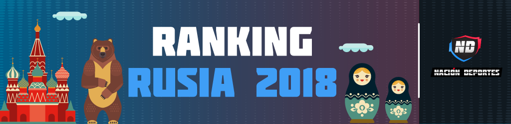 Power Ranking Rusia 2018