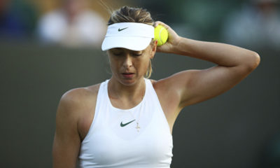 Sharapova cayó en Wimbledon