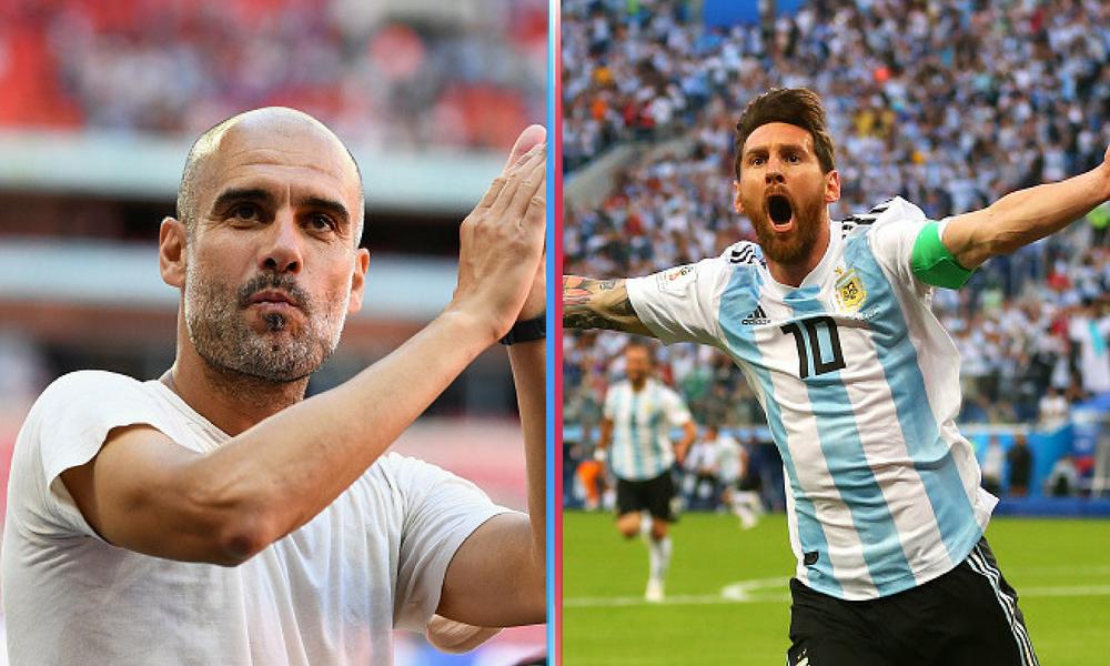 AFA buscó a Pep Guardiola para dirigir a Messi