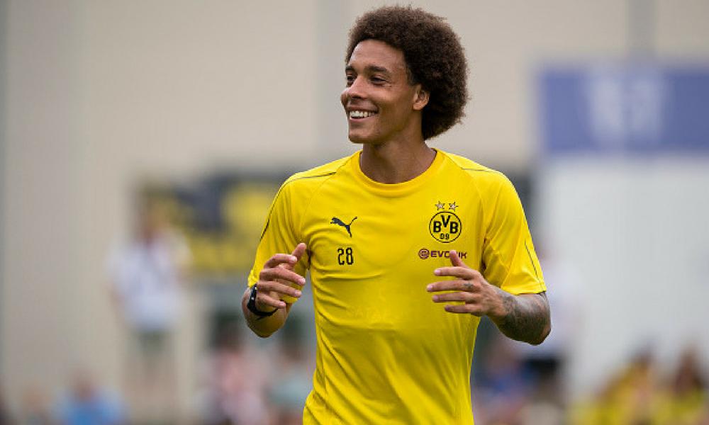 Axel Witsel fichó por el Borussia Dortmund