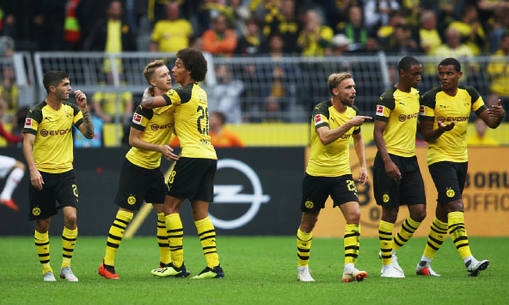 Borussia Dortmund goleó al RB Leipzig