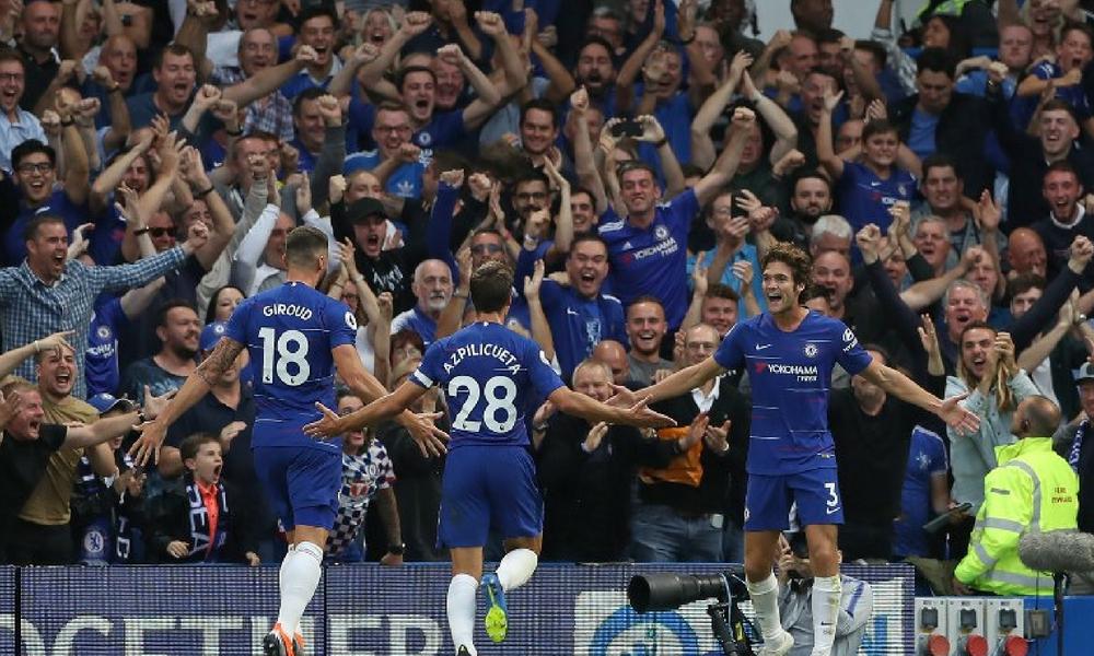 Chelsea derrotó al Arsenal en un partidazo