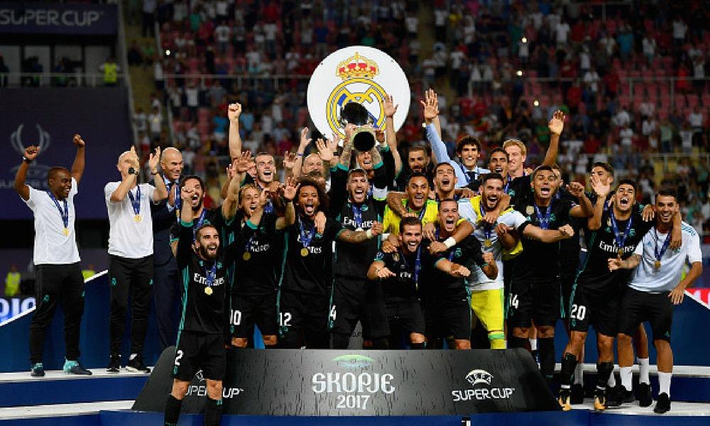 Real Madrid igualará una marca en la Supercopa