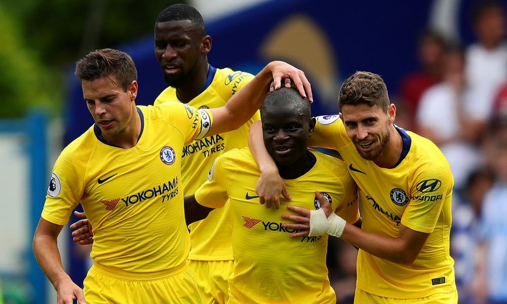 Chelsea goleó a Huddersfield