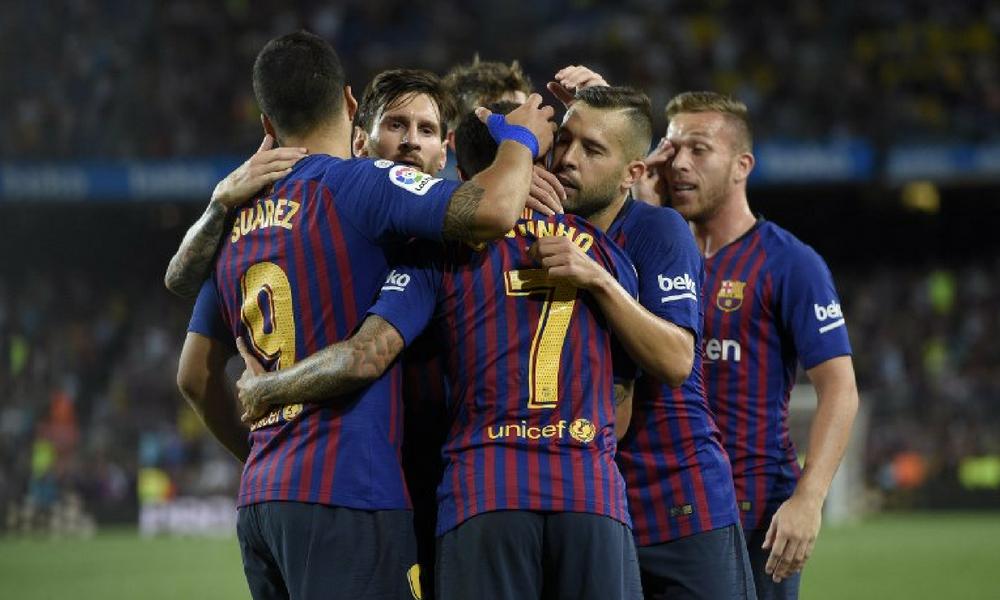 El Barcelona se estrenó con victoria