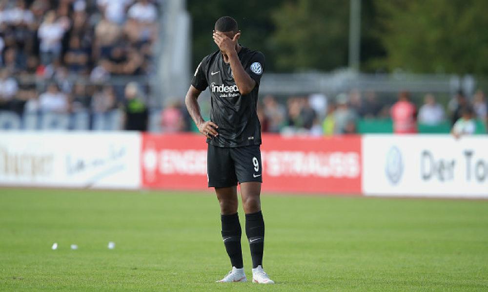 Eintracht fue eliminado por un equipo